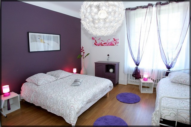 chambre bebe beige et mauve pr l vement d 39 chantillons et une bonne id e de. Black Bedroom Furniture Sets. Home Design Ideas