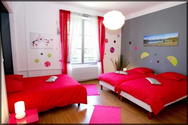 Peinture chambre beige marron for Peinture chambre couple